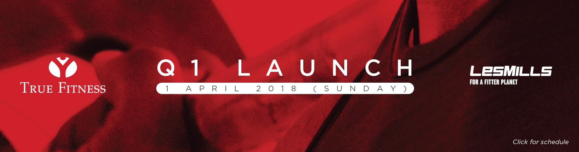 Les Mills Q1 Launch