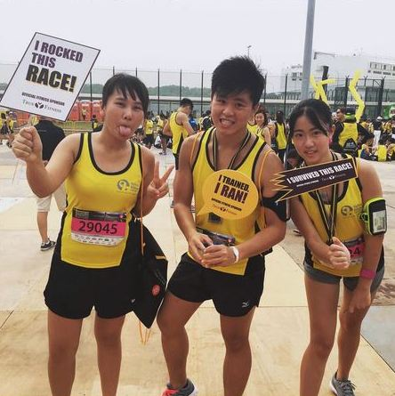 Yellow Ribbon Prison Run with True Fitness