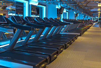 True Fitness Singapore 135000 square feet