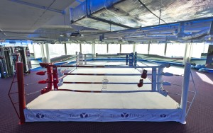 Boxing Ring at our Tampines center