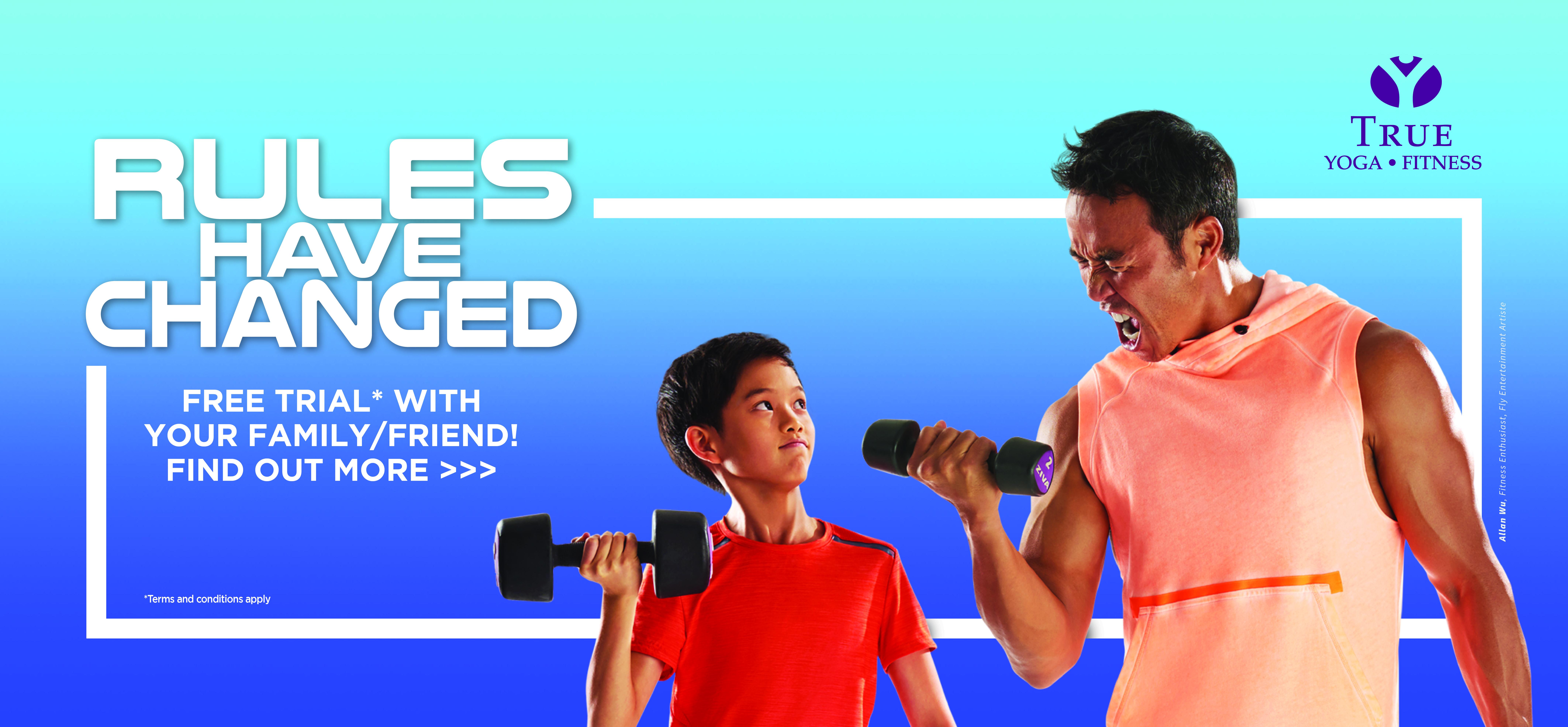 True Fitness Singapore - 8 Gyms island wide