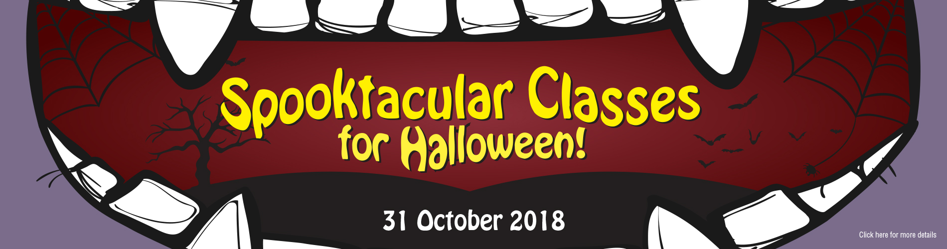 Halloween Classes 2018